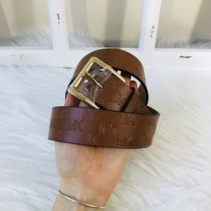 MK Signature Logo Belt Large
